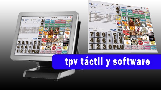 tpv tactil y software